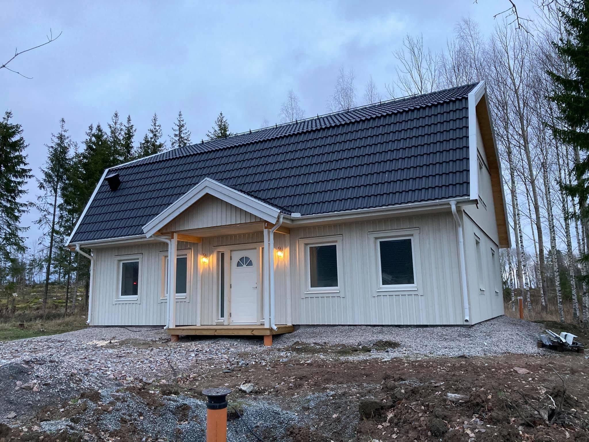 Bygga hus - Nybyggnation av hus i Sala 2021