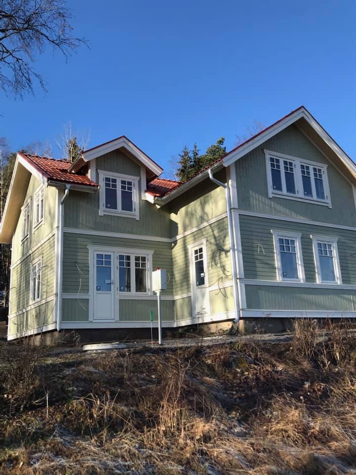 Påbyggnad och renovering av hus i Sala 2020